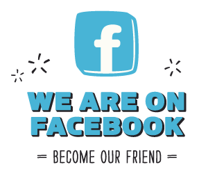 We are on Facebook. Become our friend.